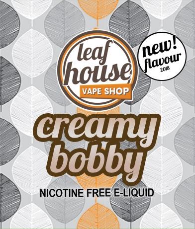 Creamy Bobby- Leaf House E-liquid - Leaf House Vape Shop Melbourne Australia