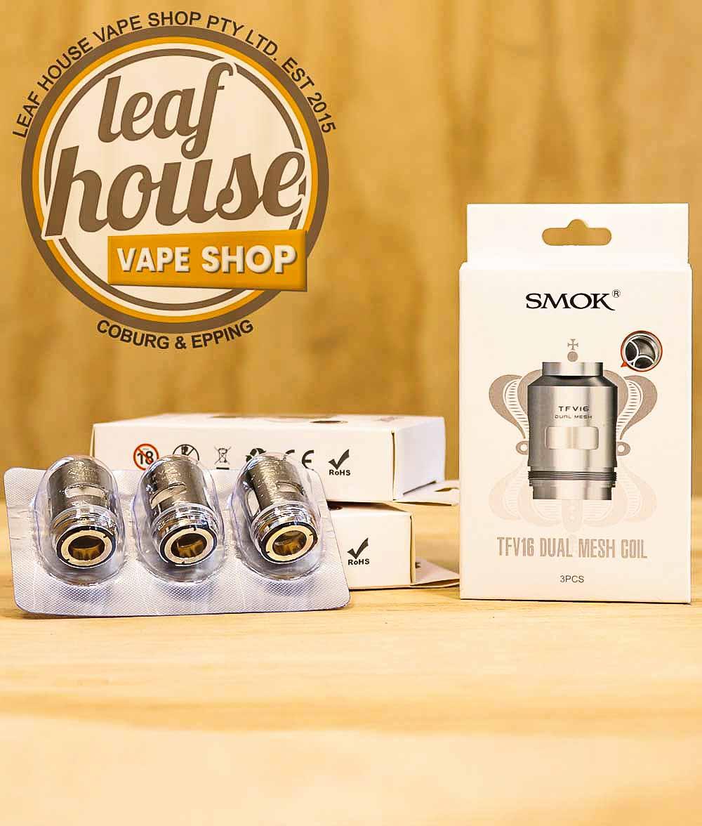 Smok TFV16 Mesh Coils (Pack of 3)-Leaf House Vape Shop Australia