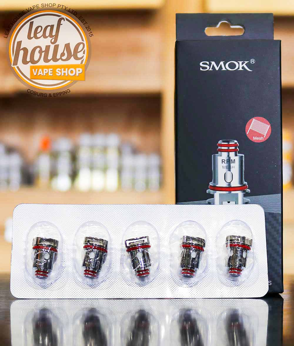 SMOK RPM Replacement Coils (Pack of 5)-Leaf House Vape Shop Australia
