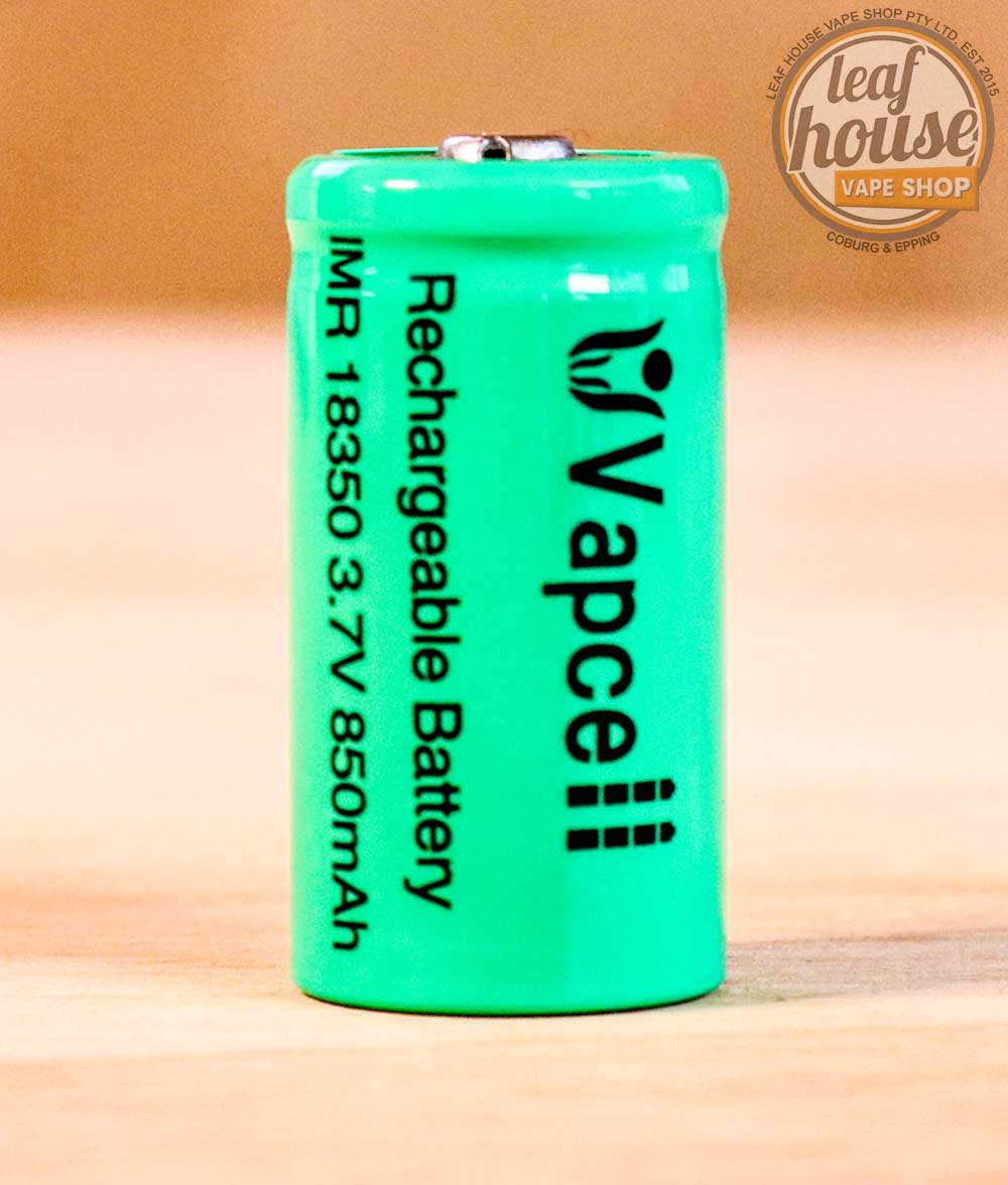 Vapcell 18350 Battery-Leaf House Vape Shop Australia