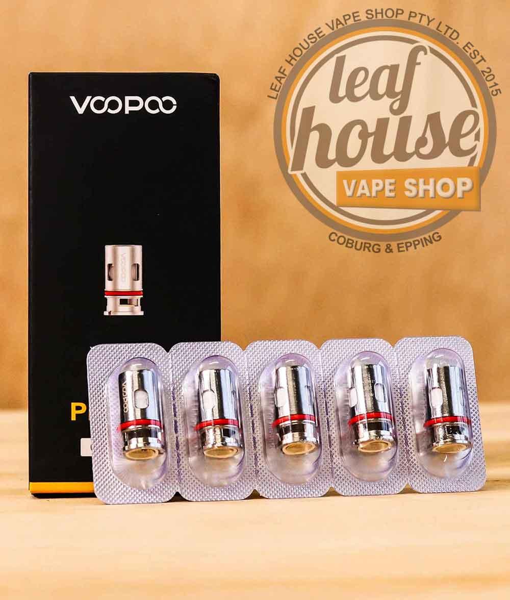 VOOPOO PnP Replacement Coils (Pack of 5)-Leaf House Vape Shop Australia