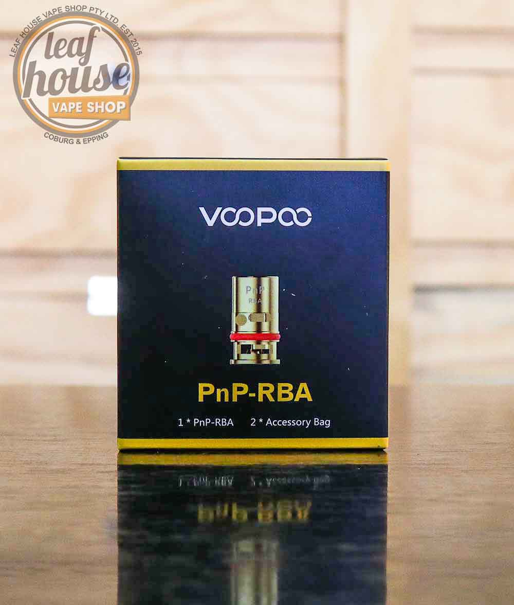 VOOPOO PnP Replacement RBA Coil-Leaf House Vape Shop Australia
