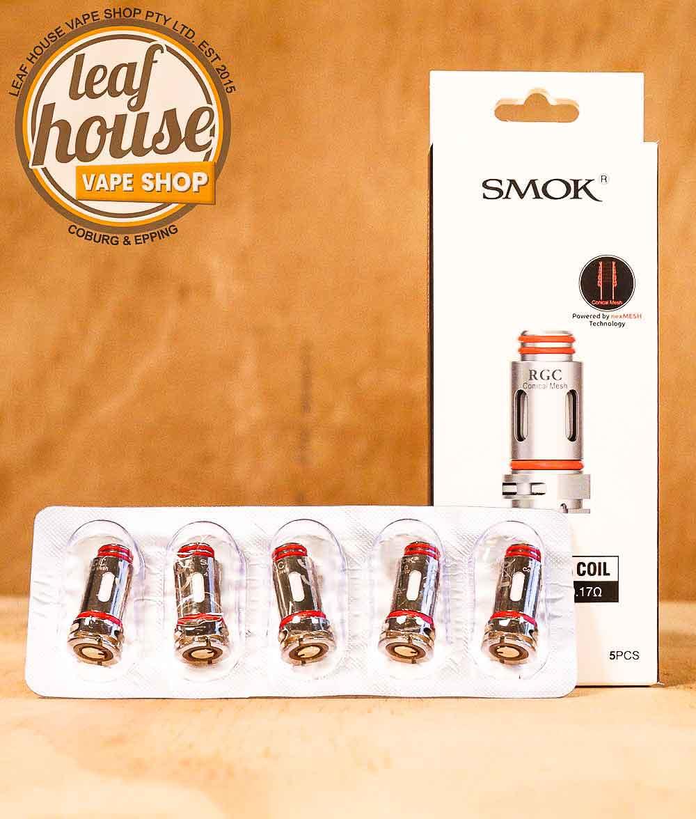 SMOK RGC Replacement Coils-Leaf House Vape Shop Australia