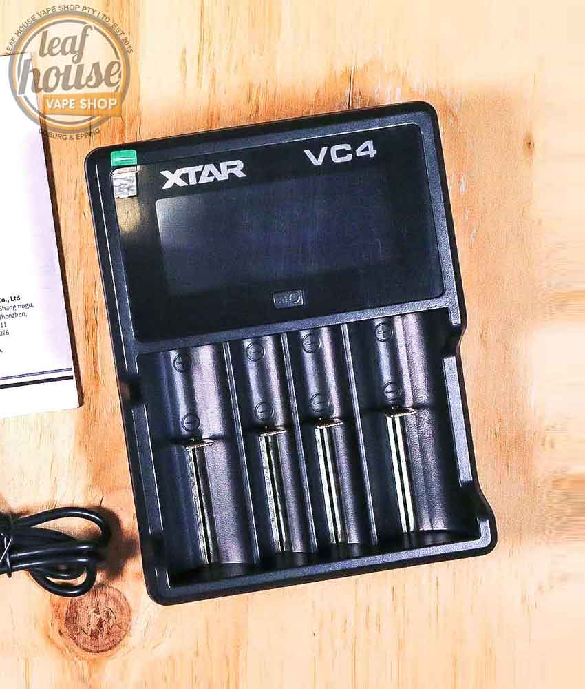 XTAR VC4 Charger- Vape Shop Australia