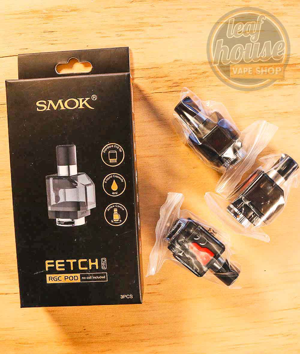 SMOK FETCH PRO RGC Replacement Pods-Leaf House Vape Shop Australia