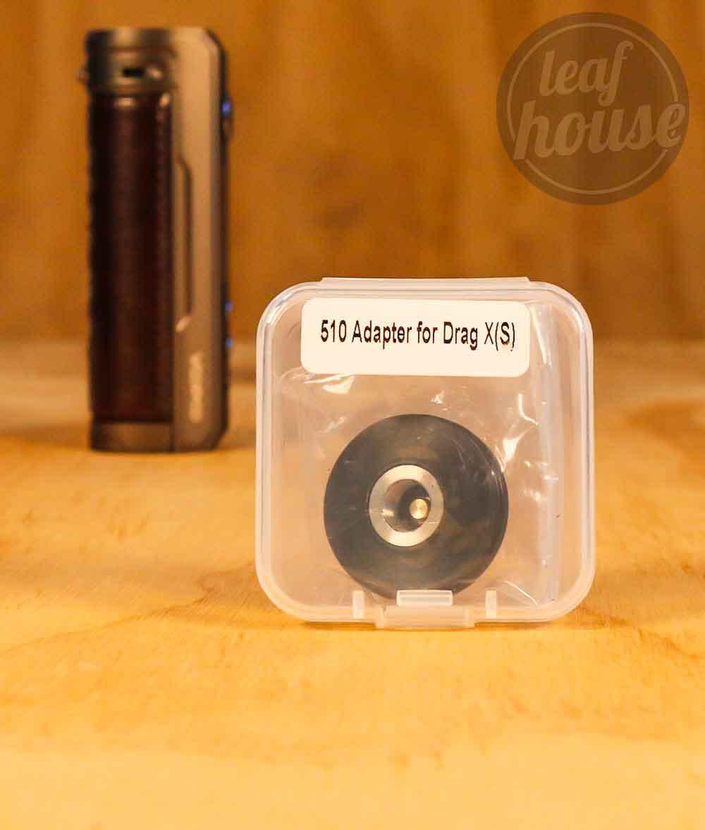 510 Adaptor for Voopoo Drag S Kit and Voopoo Drag X Kit-Leaf House Vape Shop Australia