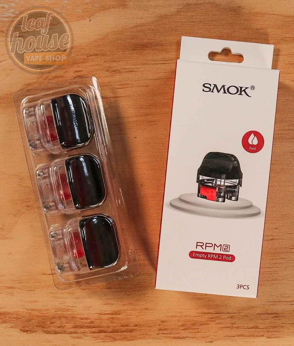 SMOK RPM 2 Replacement Pods - Leaf House Vape Shop Melbourne