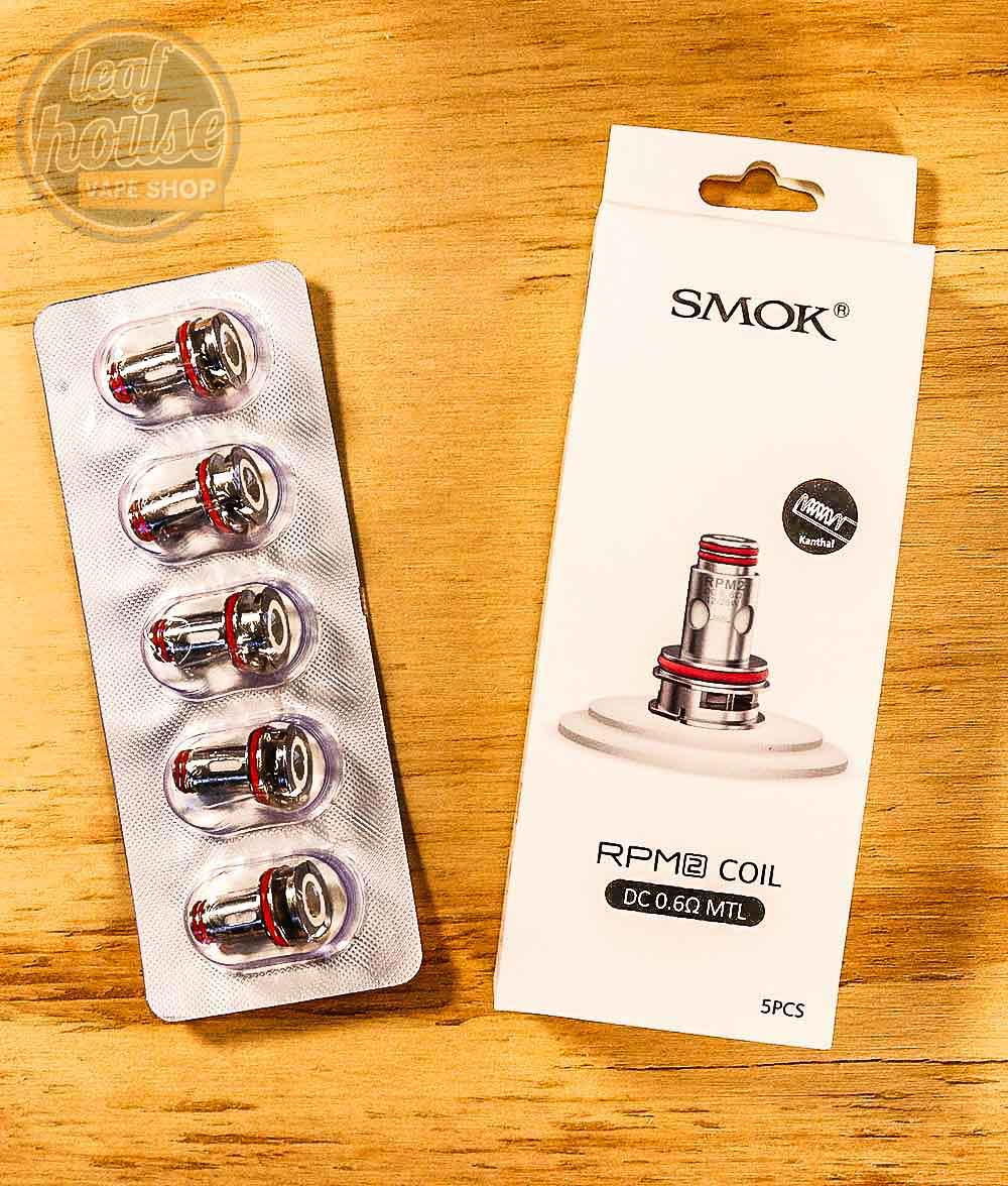 SMOK RPM 2 Replacement Coils (Pack of 5)-Leaf House Vape Shop Australia