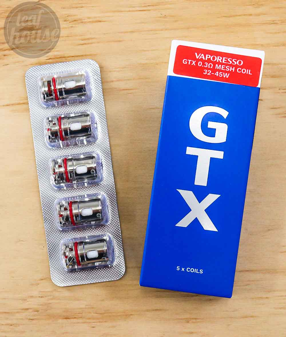 Vaporesso GTX Coils-0.3ohm Mesh-Vape Shop Australia