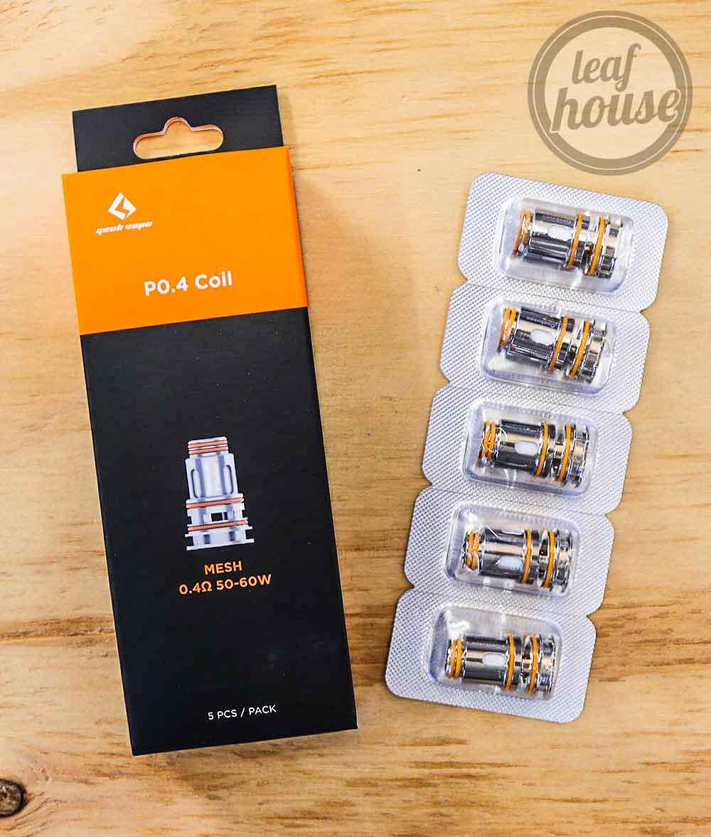 Geek Vape P Coils (Pack of 5)-0.4ohms-Vape Australia