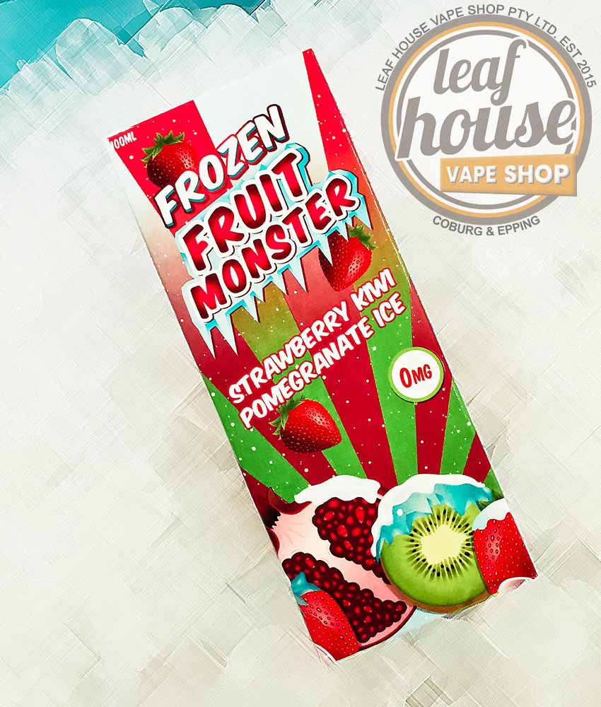 Frozen Fruit Monster - Strawberry Kiwi Pomegranate Ice