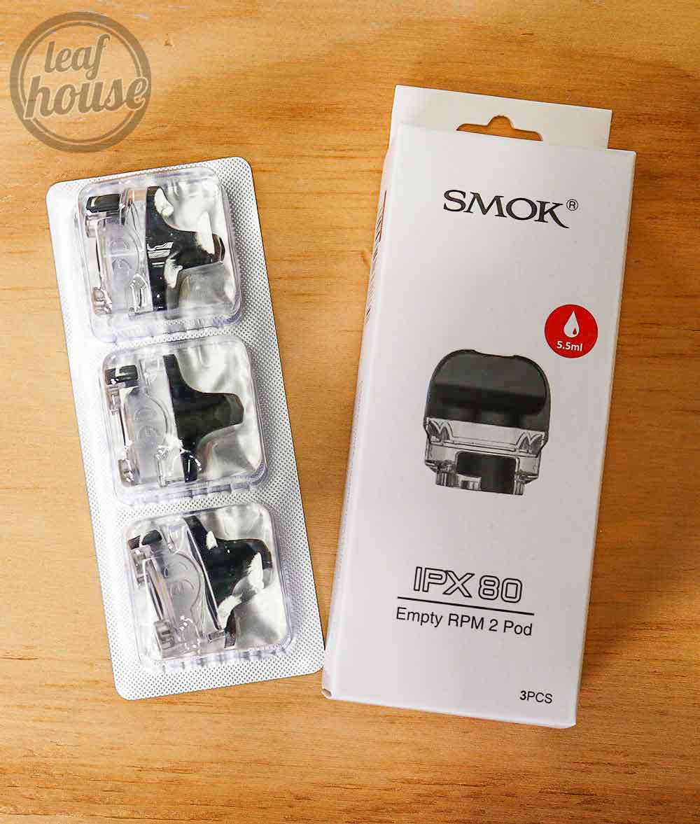 Smok IPX 80 Replacement Empty RPM 2 Pods
