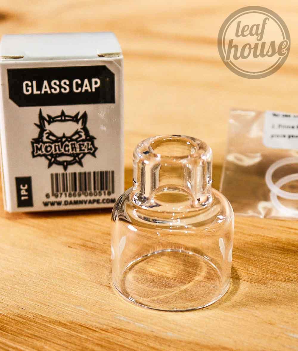 Damn Vape MONGREL 25mm BF RDA - Replacement Glass Cap