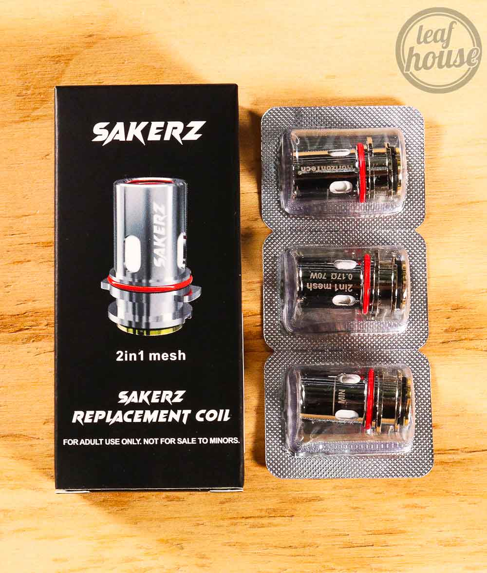 HorizonTeck Sakerz Replacement Coils-2in1 Mesh-Vape Australia