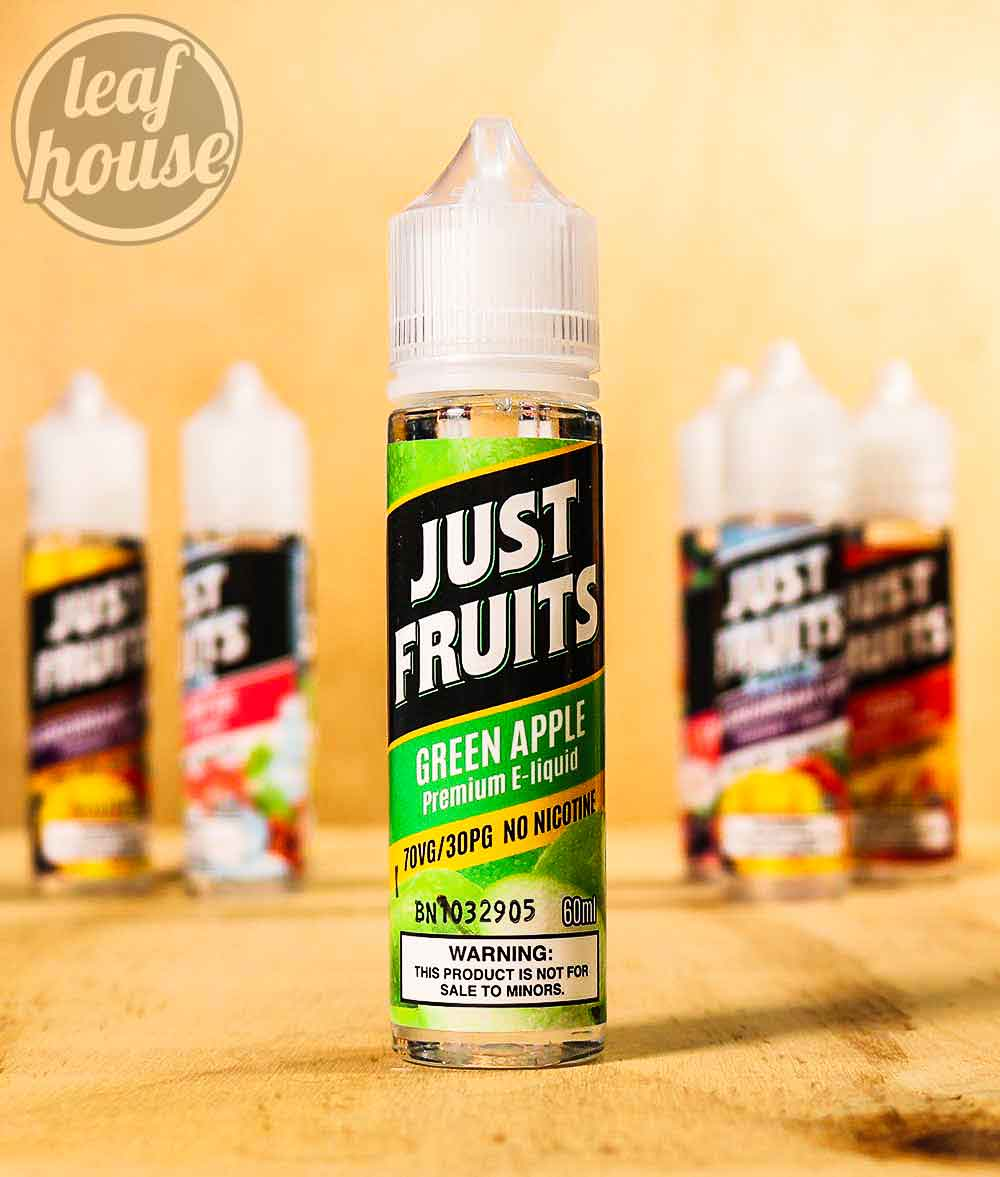 Just Fruits-Green Apple-Premium E-liquid-Vape Australia-2