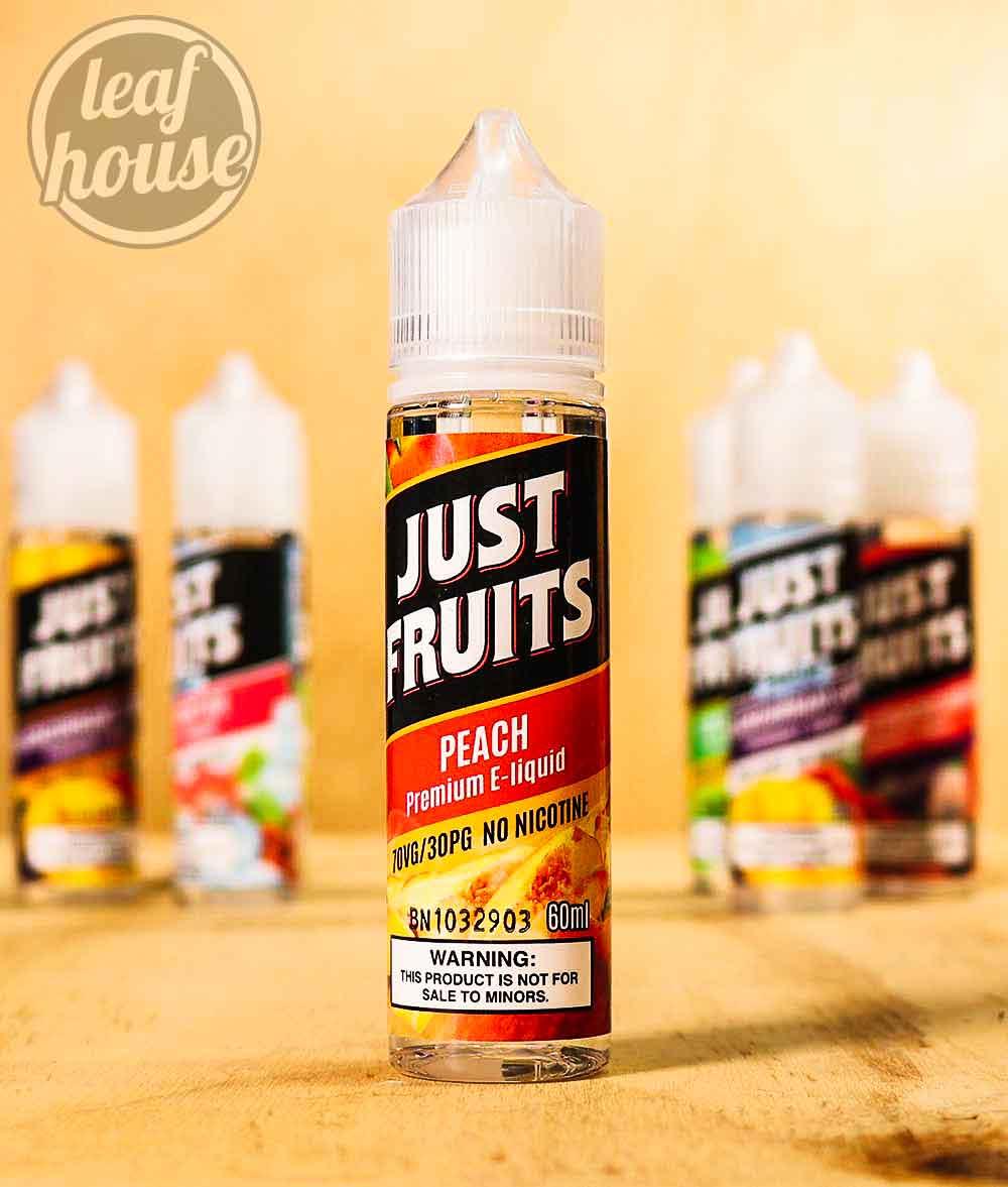 Just Fruits-PEACH-Premium E-liquid-Vape Australia-2